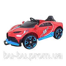 Ел-мобіль T-7657 EVA RED легковий на Bluetooth 2.4G Р/У 12V4.5AH мотор 2*18W з MP3 122*70*50 /1/