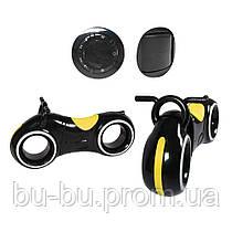 Беговел GS-0020 Black/Yellow Bluetooth LED-подсветка кор./1/