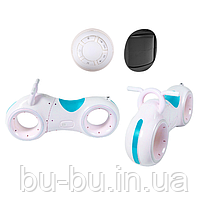 Беговел GS-0020 White/BlueBluetooth LED-подсветка кор./1/