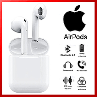 Навушники Apple AirPods i120, бездротові навушники Apple AirPods, bluetooth навушники Apple Air Pods 888