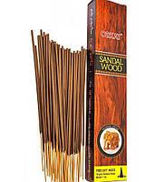 Sandal wood (сандаловое дерево) Orkay 100 gm-натуральные пыльцовые благовония (палочки+конусы)