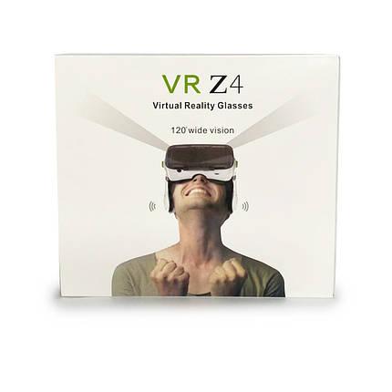 VR BOX Z4 Окуляри віртуальної реальності з пультом і навушниками, фото 2