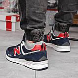 Кросівки чоловічі 18182, New Balance 574, темно-сині, [ 41 42 43 44 45 46 ] р. 42-27,0 див., фото 4
