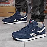Кросівки чоловічі 18211, Reebok Classic, темно-сині, [ 41 42 43 44 45 ] р. 41-26,0 див. 43, фото 3