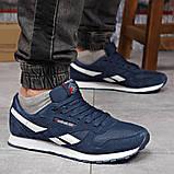 Кросівки чоловічі 18211, Reebok Classic, темно-сині, [ 41 42 43 44 45 ] р. 41-26,0 див. 43, фото 8