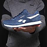 Кросівки чоловічі 18211, Reebok Classic, темно-сині, [ 41 42 43 44 45 ] р. 41-26,0 див. 43, фото 9