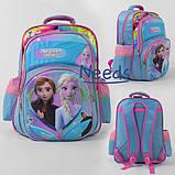 Рюкзак шкільний ранець для дівчинки 1 2 3 клас Блакитний (86673), фото 2