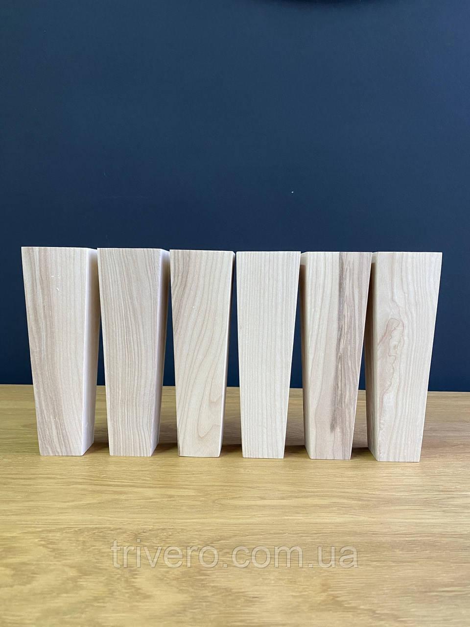 Квадратні меблеві ніжки і опори з дерева / Код: Ніжка-36