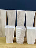 Квадратні меблеві ніжки і опори з дерева / Код: Ніжка-36, фото 3
