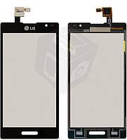 Touchscreen (сенсорный экран) для LG Optimus L9 P760/P765/P768, оригинал (черный)