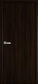 Двері міжкімнатні СТАНДАРТ глухі Еко Шпон, Венге браун, 900