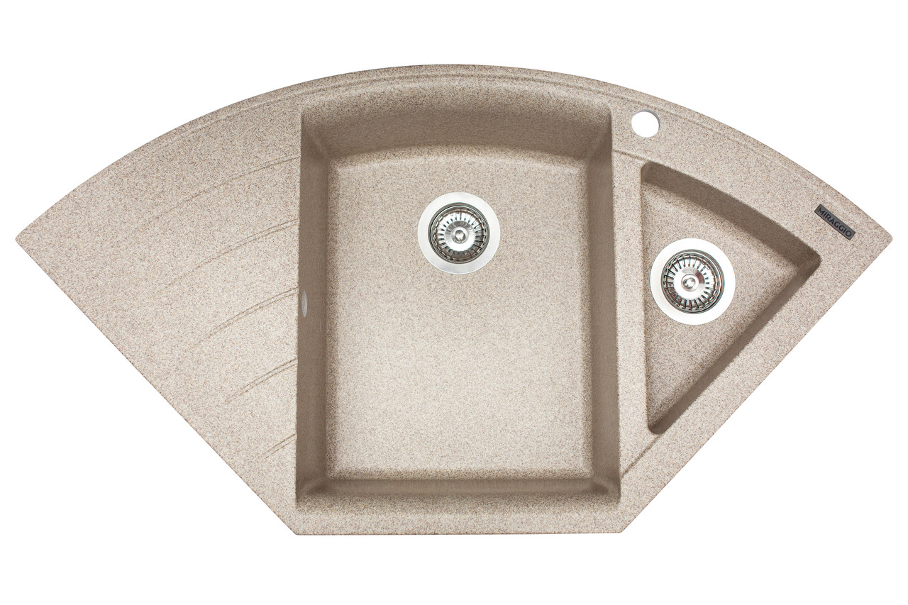 Кухонна мийка гранітна MIRAGGIO EUROPE terra