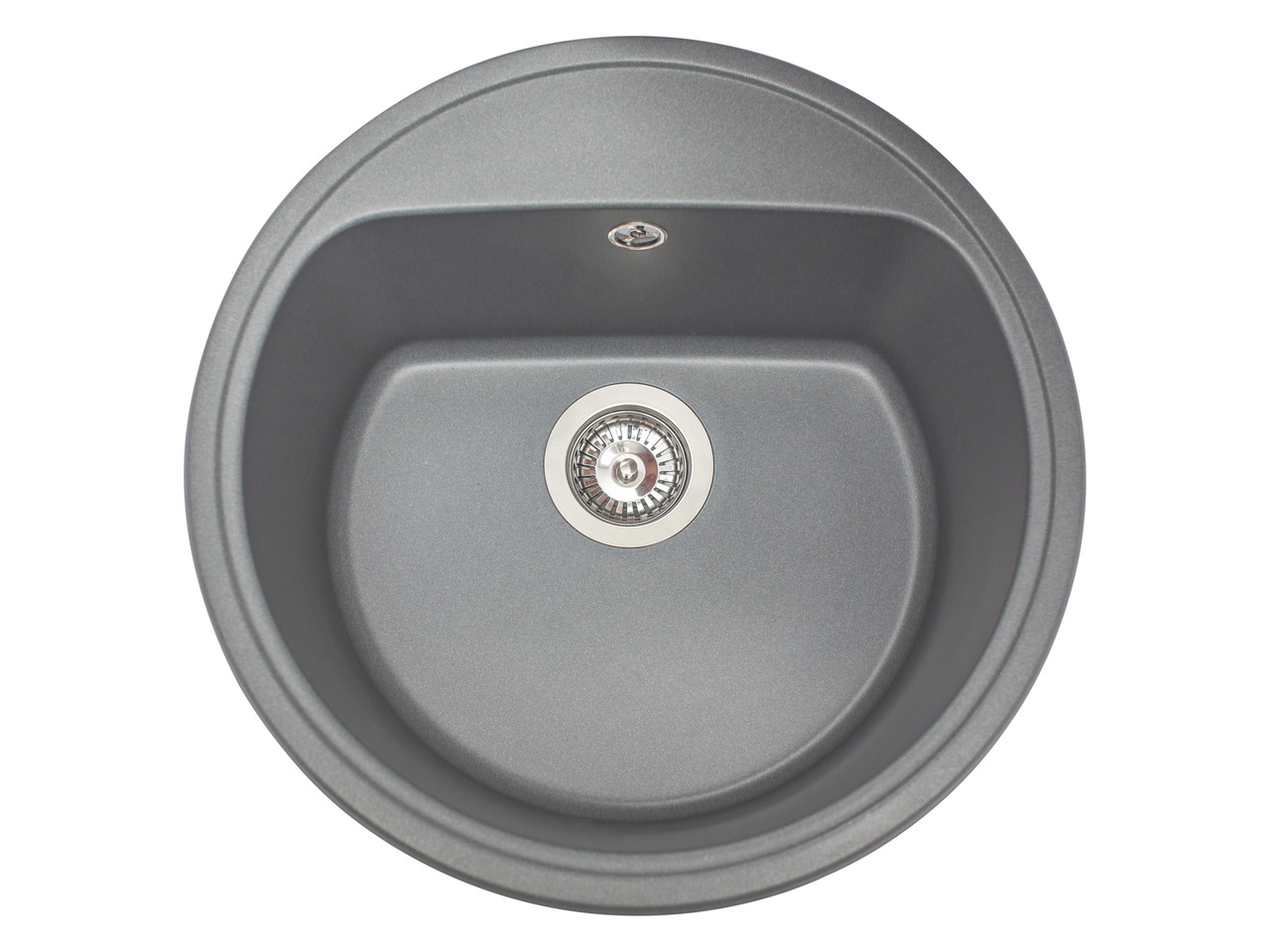Кухонна мийка гранітна MIRAGGIO MALIBU gray