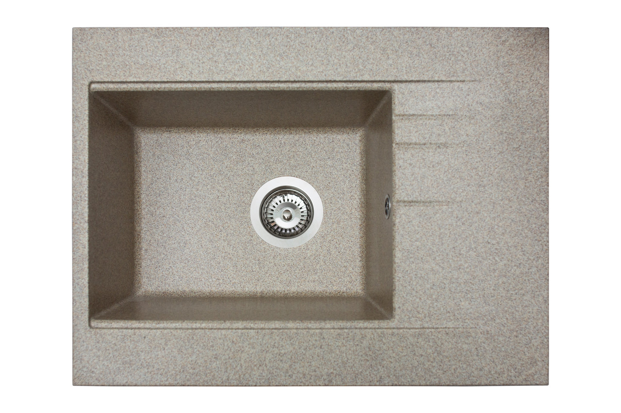 Кухонна мийка гранітна MIRAGGIO BODRUM 650 terra