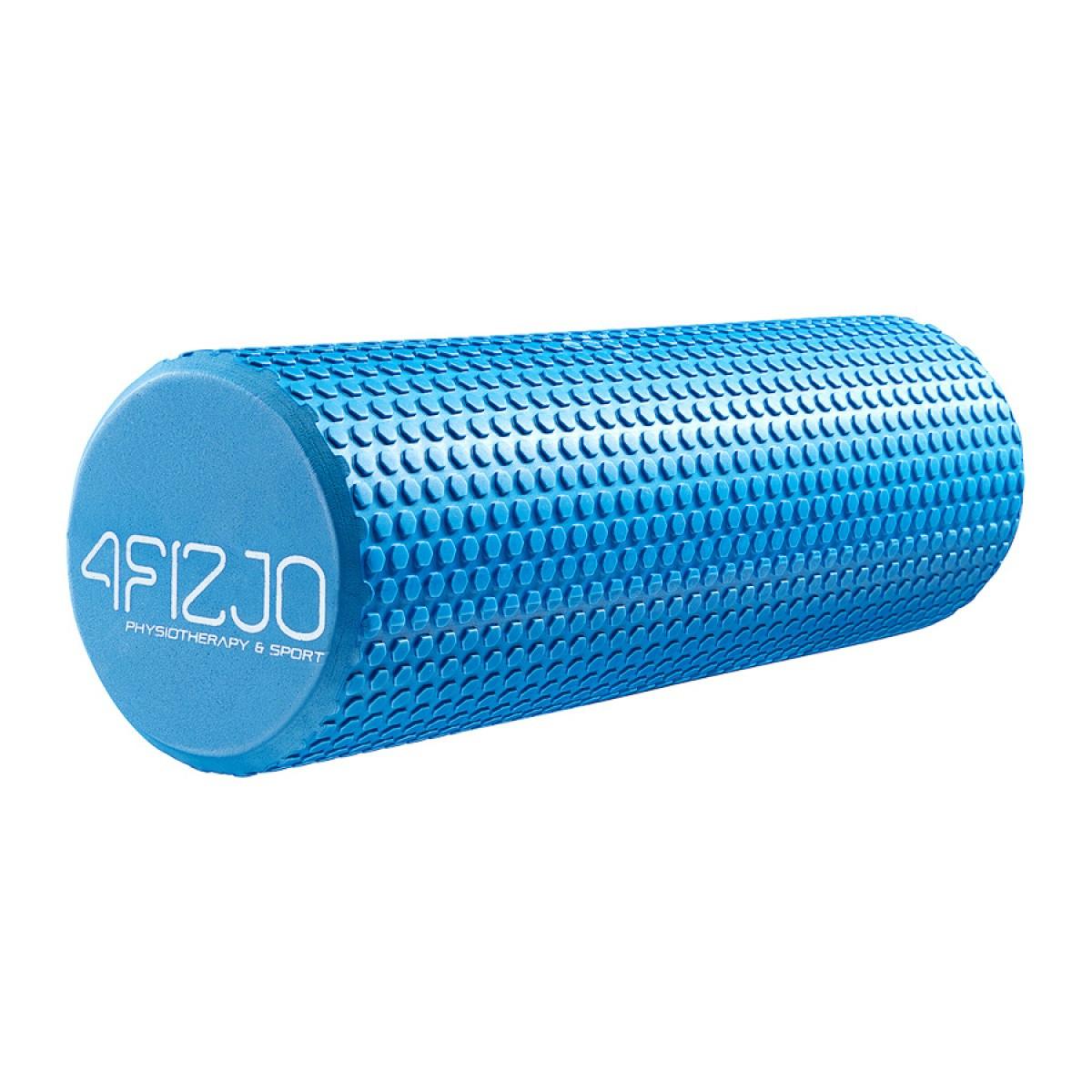 Массажный ролик (валик, роллер) 4FIZJO EVA 45 x 15 см 4FJ0119 Blue