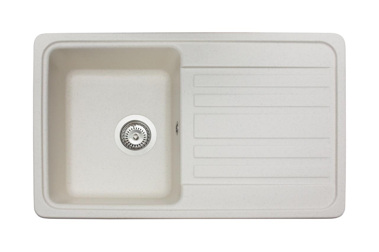 Кухонна мийка гранітна MIRAGGIO VERSAL jasmine