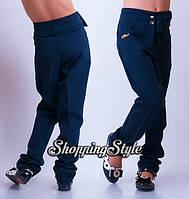 Тёплые школьные брюки для девочки 2 цвета