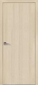 Двері міжкімнатні СТАНДАРТ глухі Еко Шпон, Дуб перловий, 700