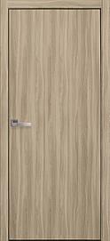 Двері міжкімнатні СТАНДАРТ глухі Еко Шпон, Сандал, 800