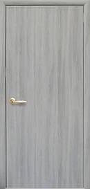 Двері міжкімнатні СТАНДАРТ глухі Еко Шпон, Ясен патина, 800