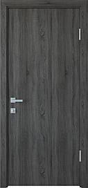 Двері міжкімнатні СТАНДАРТ глухі ПВХ DeLuxe, Грей New, 800