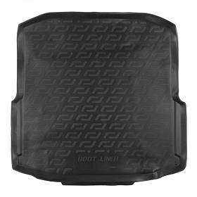 Коврик в багажник Шкода Октавия 3  лифтбэк бокс Skoda Octavia III '13- liftback box L.Locker