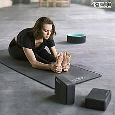 Блок для йоги 4FIZJO 4FJ1387 Black, фото 3