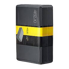 Блок для йоги 4FIZJO 4FJ1387 Black, фото 2
