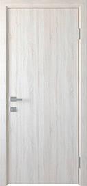 Двері міжкімнатні СТАНДАРТ глухі ПВХ DeLuxe, Ясен New, 600