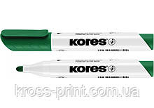 Маркер для белых досок KORES 2-3 мм, зеленый