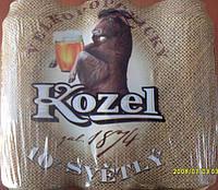 Пиво Kozel 10% svetloe pivo 0.5 л ж\б