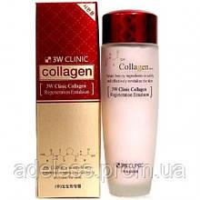 Эмульсия для лица с коллагеном 3W Clinic Collagen Regeneration Emulsion, 150мл