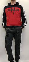 Джинсы мужские, карго цвета хаки, манжет, слегка зауженные,IN-VESIRE. Турция