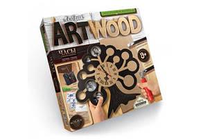 Набір для випилювання лобзиком Art Wood Годинник 04 Danko Toys