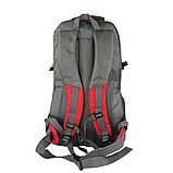 Рюкзак туристический походный Ronglida 70 л красный (716867), фото 2