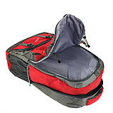 Рюкзак туристический походный Ronglida 70 л красный (716867), фото 3