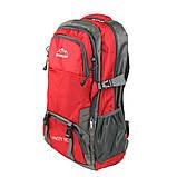 Рюкзак туристический походный Ronglida 70 л красный (716867), фото 4