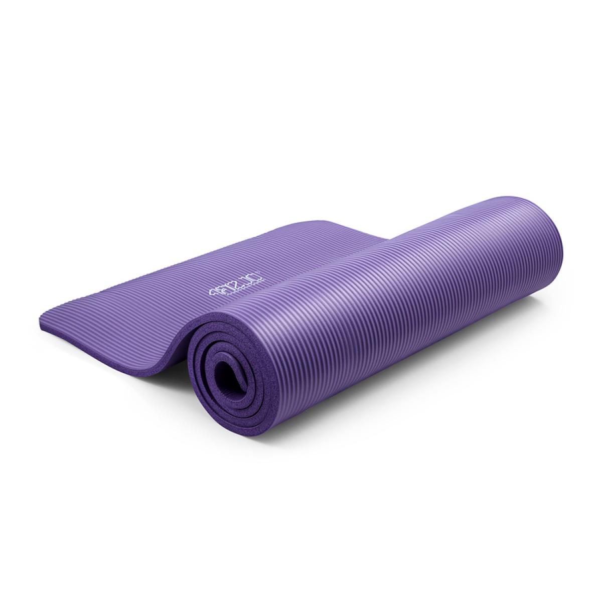 Килимок мат для йоги та фітнесу 4FIZJO NBR 1.5 см 4FJ0151 Violet