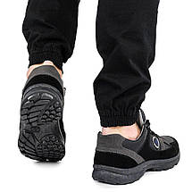 Кроссовки мужские Paolla черные демисезонные кожзам 42 р. - 27,5 см (1359550737), фото 2