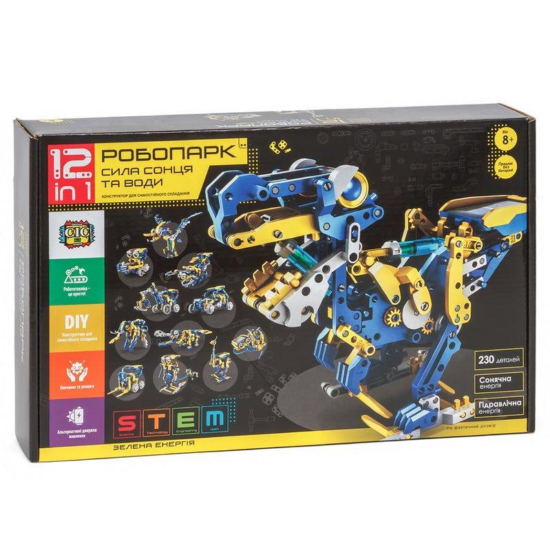 Робопарк 12 в 1, STEM-конструктор CIC 21-618