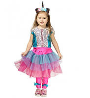 Детский карнавальный костюм Единорога Лол для девочек 4-8 лет Костюм Супергерои Единорожка Lol 344