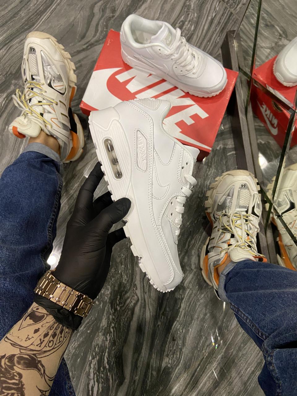 Nike Air Max 90 Full White (Білий)
