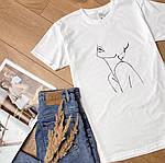 Крута жіноча футболка «Дівчина», фото 4