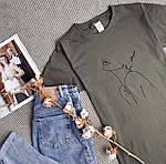 Крута жіноча футболка «Дівчина», фото 7