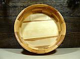 Деревянная сегментная  тарелка, конфетница,ваза для фруктов, фото 6