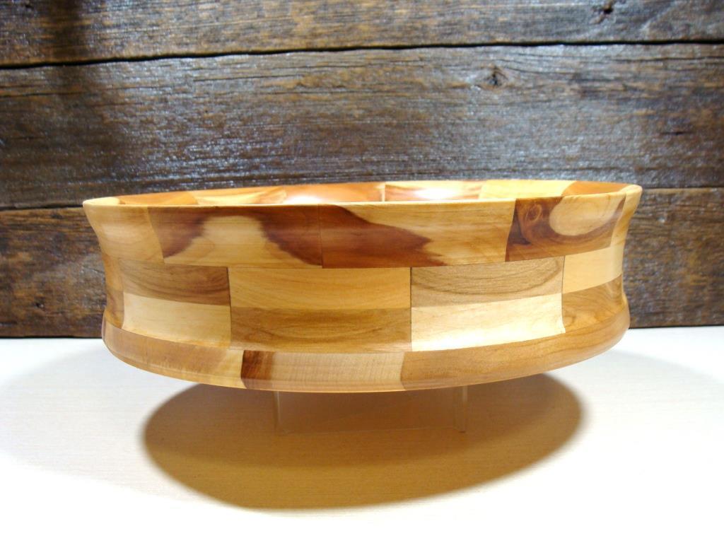 Деревянная сегментная  тарелка, конфетница,ваза для фруктов