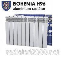 Алюминиевый радиатор BOHEMIA H96, Чехия