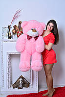 """Мягкая игрушка мишка ДЕН (130 см), Харьков """"Розовый"""""""