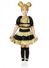 Детский карнавальный костюм Пчелки Лол для девочек 4-8 лет Костюм Lol 344, фото 2