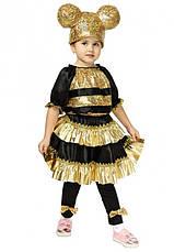 Детский карнавальный костюм Пчелки Лол для девочек 4-8 лет Костюм Lol 344, фото 3